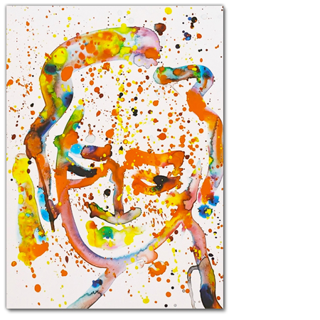 Sam Francis - 25 portraits -Gallery Delaive